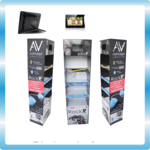 Cardboard Display with Video Screen Digital Photo Frame pictures & photos