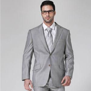 China 2014 Fashion New Design Cotton Men Suit (W0228) - China Men ...