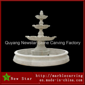 Marble Stone Carving Water Fountain for Garden Decoration (NS-237) pictures & photos