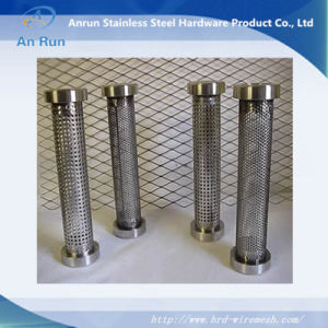 Ss316 Round Hole Stainless Steel Perforated Tube pictures & photos
