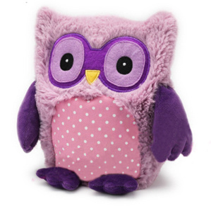 Microwaveable Plush Soft Toy Owl Filling