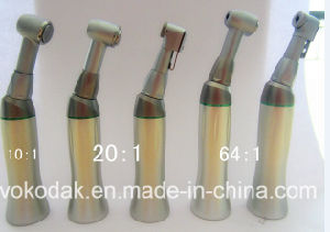 CE Aprove Dental Low Speed Implant Reduction Contra Angle Handpiece (20: 1) pictures & photos