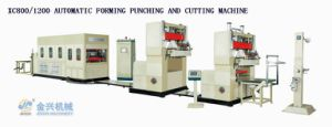 Vacuum Forming Cutting Punching Machine pictures & photos