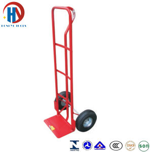 Metal Red Hand Trolley Ht1815 pictures & photos