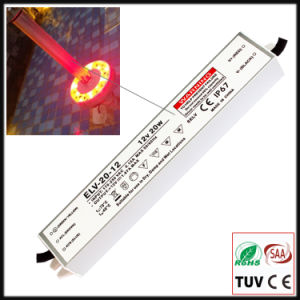 20W Constant Voltage Waterproof IP67 LED Power Supply with Ce/RoHS pictures & photos