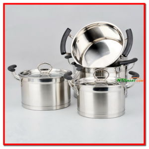 Belly Shaped Cookware Set pictures & photos