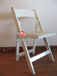 Wholesale for The White Paded Resin Folding Chair pictures & photos