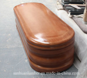 Euro- Style Wooden Coffins& Caskets pictures & photos