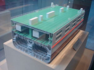 MID-Ship Section Model of Guangdong Train Ferry (JW-295) pictures & photos
