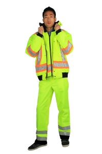 Four in One Hi-Vis Jacket pictures & photos