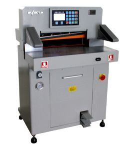 CE Certification and New Condition Hydraulic Paper Cutting Machine (5208T) pictures & photos