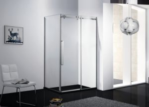 10mm Tempered Glass Shower Enclosure\ Big Wheels Shower Door\Shower Cabin pictures & photos