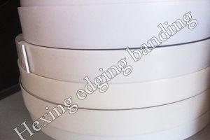 White Solid Color PVC Edge Banding (HXM0041)