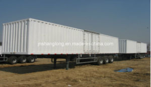 Three Axle 40 Ton Carriage Semi-Trailer pictures & photos