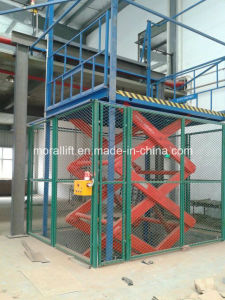 CE Approved Electrical Scissor Lift (SJG) pictures & photos