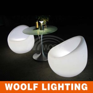 Round Illuminated LED Bar Indoor and Outdoor Chair pictures & photos