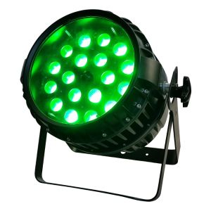 LED Waterproof 18W*18PCS Rgbwauv 6in1 LED (HT-LP-1818Z) PAR Light with Zoom