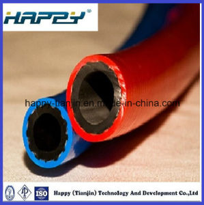High Presure Flexible Twin Welding Industrial Hose pictures & photos