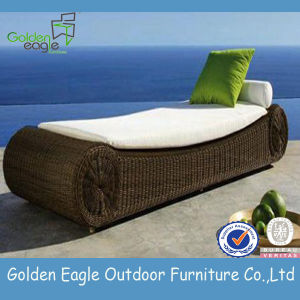 Rattan Outdoor Beach Sun Lounger, Sun Bed