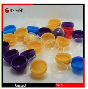 High Quality Small Plastic Capsule for Toy Vending Machine pictures & photos
