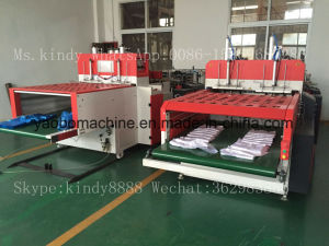Ybhq-450*2 High Speed Automatic T-Shirt Bag Producing Machine
