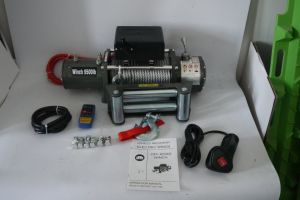 Synthetic Rope/Wire Rope Electric Winch 10000lb for off-Road Recovery 12V (DH10000F/DH10000F-S) pictures & photos
