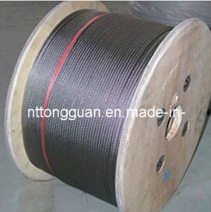 Elevator Steel Wire Rope (8*19S 10mm) pictures & photos