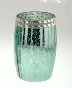 Electroplated Glass Vase pictures & photos