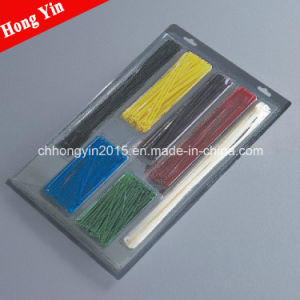 Locking Nylon Cable Tie 5*180mm Head Mould Cable Ties pictures & photos