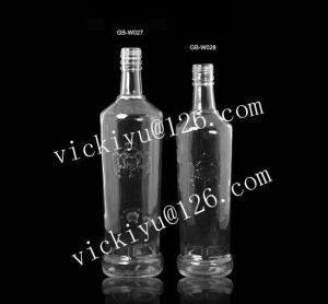 1000ml Glass Wine Bottle Vodka Glass Bottle with Cap pictures & photos