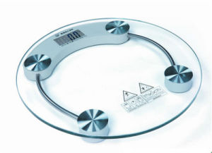 Digital Electrical Body Scale Circular Type and Glass Plate