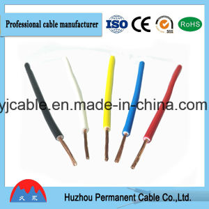High Quality Single Core PVC Insulated Electric Cable pictures & photos