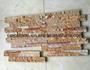 China Natural Sandstone Wall Panel Mosaic pictures & photos