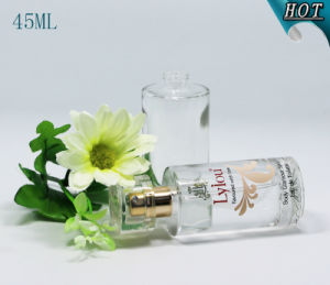 45ml Cylinder Cosmetic Glass Spray Perfume Bottle pictures & photos
