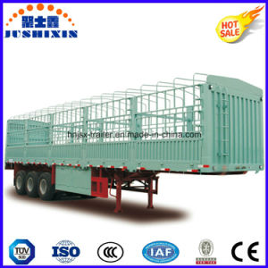 High Quality Tri-Axle Side Wall Stake Semi Trailer for Sale pictures & photos