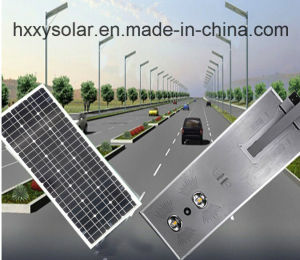 China New Products 40W Solar LED Street Light, All in One Integrated Solar Street Light pictures & photos