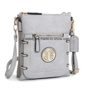 Promotional Women PU Leather Crossbody Bag Messenger Handbag pictures & photos