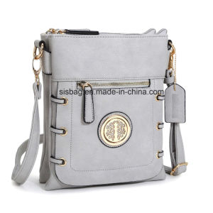 Women PU Leather Crossbody Bag Messenger Bag Handbag pictures & photos