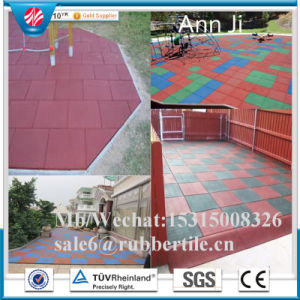 Square Horse Tile/Outdoor Playground Tile/Rubber Outdoor Paver pictures & photos