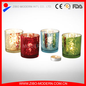 Best Selling New Design Glass Candle Holder pictures & photos