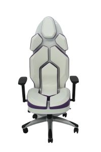 Luxury Purple Fashion PU Office Chair pictures & photos