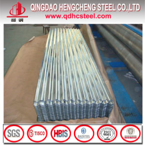 Hdgi JIS G3302 Zinc Corrugated Steel Sheet for Roofing pictures & photos