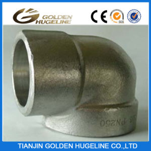 90degree Socket Welded End Carbon Steel Forged Elbow pictures & photos