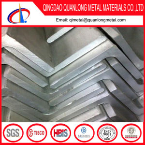 Ss400 Hot DIP Galvanized Equal Angle Iron with Holes pictures & photos