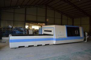 Higher Laser Power Fiber 3000W Metal Sheet Cutting Machine pictures & photos