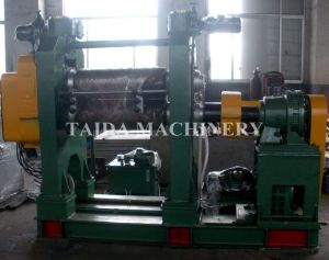 Two Roll Rubber Calender Machine pictures & photos