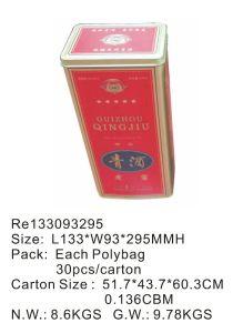 Rectangular Wine Tin Box pictures & photos
