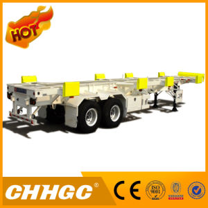 Hot Sale Container Skeleton Semi-Trailer for Transportation pictures & photos