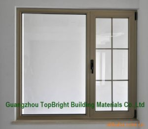 Plastic UPVC/PVC Double Glazed Windows Price with Grill Design pictures & photos