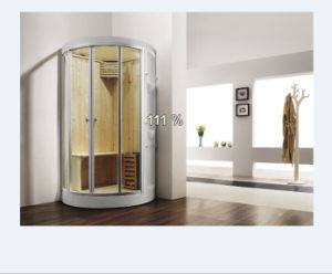 Portable Mini Round Shape Dry & Moist Combination Steamroom (M-8259) pictures & photos
